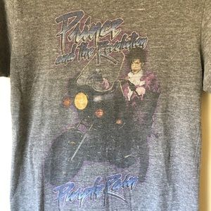 d56ac5f5c4 Urban Outfitters Tops | Prince Purple Rain Vintage Washed Band Tee ...